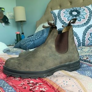 blundstone super 550 boots - womens 9.5 mens 7.5